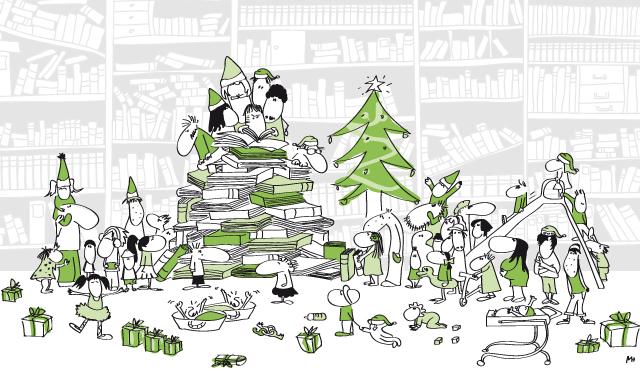 Les neurones fêtent Noël!