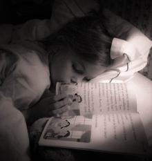 La petite fille qui aimait les livres.
