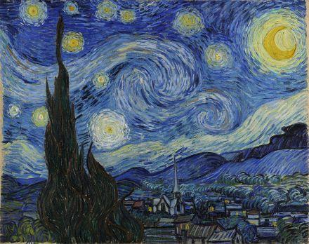 Van Gogh, Ciel étoilé