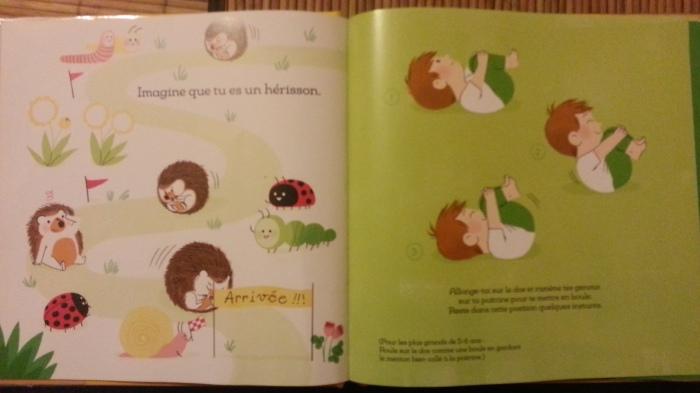le pilates pour les petits, Ed. Gallimard Jeunesse