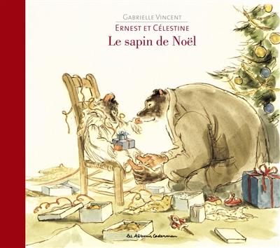 sapin de Noël Ernest et Célestine